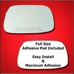 Mirror Glass Replacement + Full Adhesive for Toyot