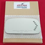 Mirror Glass for 06-08 Buick Lucerne, DTS Passenge