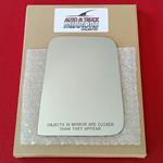 Mirror Glass + ADHESIVE for 87-02 Jeep Wrangler Pa