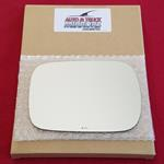 Mirror Glass + ADHESIVE for Volvo V70, XC70, XC90