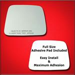 Mirror Glass Replacement + Full Adhesive for Xterr