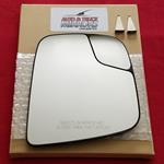 Mirror Glass with Backing for Nissan NV200, City E
