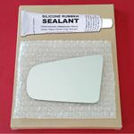 Mirror Glass Replacement + Silicone Adhesive for D