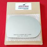 Mirror Glass + ADHESIVE for 02-05 Kia Sedona Passe