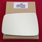 Mirror Glass + ADHESIVE for 11-18 Ram 1500, 2500,