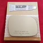 Mirror Glass Replacement + Silicone Adhesive for R