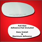Mirror Glass Replacement + Full Adhesive for 05-09