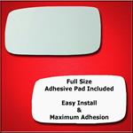 Mirror Glass Replacement + Full Adhesive for 240 S