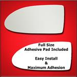 Mirror Glass Replacement + Full Adhesive for 06-09