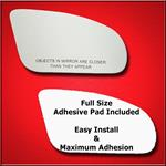 Mirror Glass Replacement + Full Adhesive for 93-02