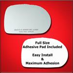 Mirror Glass Replacement + Full Adhesive for 02-05