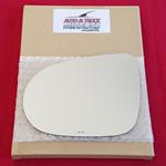 Mirror Glass + ADHESIVE for 16-18 Kia Sorento Driv