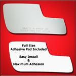 Mirror Glass Replacement + Full Adhesive for 13-17