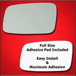 Mirror Glass Replacement + Full Adhesive for C70 S