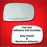 Mirror Glass Replacement + Full Adhesive for Suzuk