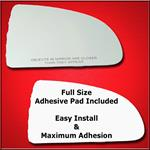 Mirror Glass Replacement + Full Adhesive for Cobal