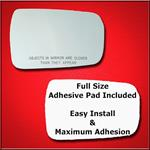 Mirror Glass Replacement + Full Adhesive for 04-12