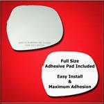 Mirror Glass Replacement + Full Adhesive for 03-09