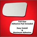 Mirror Glass Replacement + Full Adhesive for 13-18