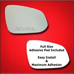 Mirror Glass Replacement + Full Adhesive for 4Runn