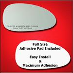 Mirror Glass Replacement + Full Adhesive for Daewo