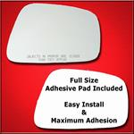 Mirror Glass Replacement + Full Adhesive for 05-08