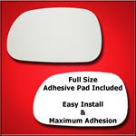 Mirror Glass Replacement + Full Adhesive for 96-02