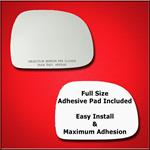 Mirror Glass Replacement + Full Adhesive for 95-98