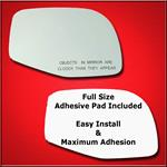 Mirror Glass Replacement + Full Adhesive for Ford