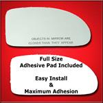 Mirror Glass Replacement + Full Adhesive for 02-07
