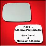 Mirror Glass Replacement + Full Adhesive for 94-98