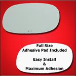 Mirror Glass Replacement + Full Adhesive for Camar