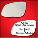 Mirror Glass Replacement + Full Adhesive for 03-06