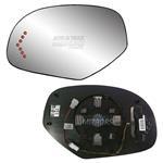 Fits 08-13 GMC Sierra 1500 Driver Side Mirror Glas