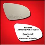 Mirror Glass Replacement + Full Adhesive for 12-14
