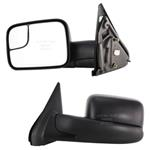 02-10 Dodge Pickup Driver Side Mirror Assembly