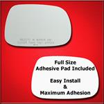 Mirror Glass Replacement + Full Adhesive for GS, S