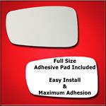 Mirror Glass Replacement + Full Adhesive for 11-14