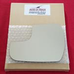 Mirror Glass + ADHESIVE for 15-17 Toyota Sienna Dr