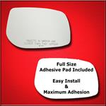 Mirror Glass Replacement + Full Adhesive for Corol