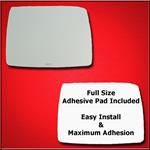 Mirror Glass Replacement + Full Adhesive for G-Cla