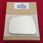 Mirror Glass + ADHESIVE for 07-11 Nissan Versa Dri