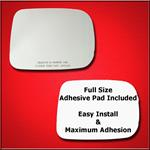Mirror Glass Replacement + Full Adhesive for 94-97