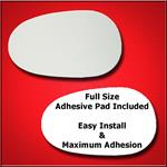Mirror Glass Replacement + Full Adhesive for 90-97