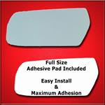 Mirror Glass Replacement + Full Adhesive for CTS 0