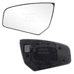 07-12 Sentra Driver Side Mirror Glass with Backing Plate