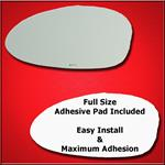 Mirror Glass Replacement + Full Adhesive for 3 Ser