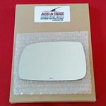 Mirror Glass + ADHESIVE for 07-12 Toyota Camry Dri