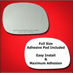 Mirror Glass Replacement + Full Adhesive for F-150