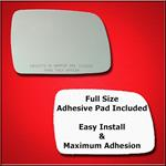 Mirror Glass Replacement + Full Adhesive for 93-95